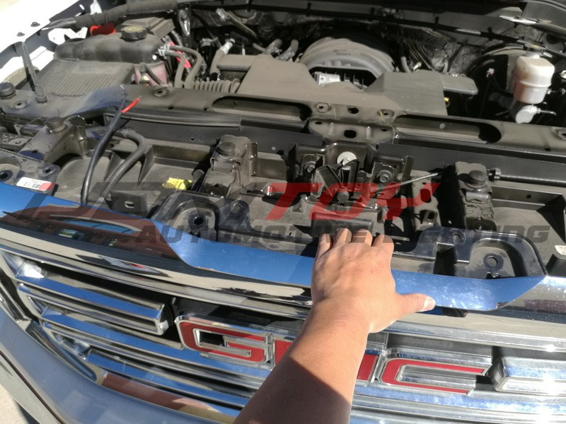 How To install Behind-the-grille LED light bar for Chevy or GMC 1500