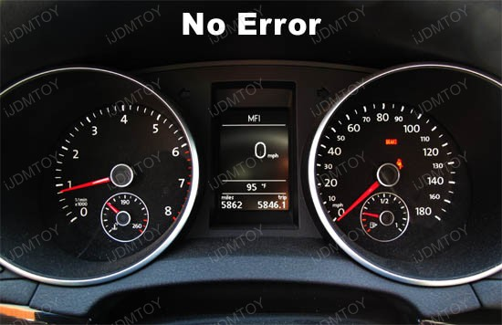 Error Free 2825 W5W adapters