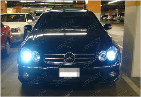 Mercedes Clk Hid Headlights Ijdmtoy Blog For Automotive