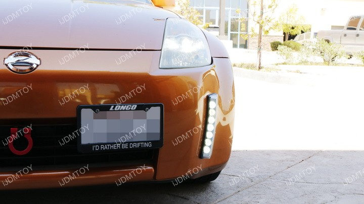 Nissan 350Z switchback LED DRL