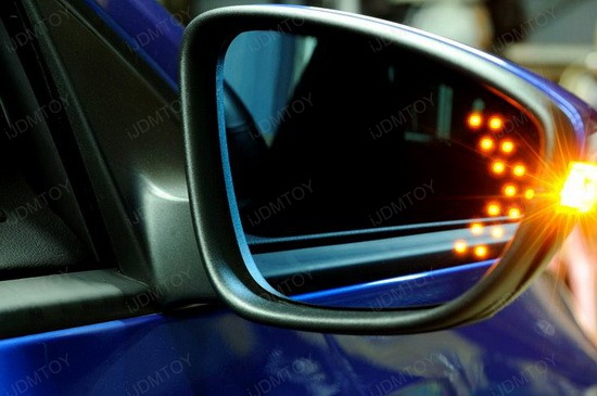 Acura TSX side mirror LED turn signal arrow light