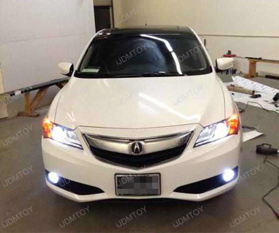 Acura ILX Gets Brand New HIDMatching H LED Fog Lights - Acura ilx fog lights