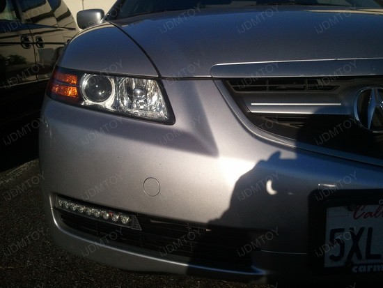 2005 Acura TL 9-LED Daytime Running Lights 1