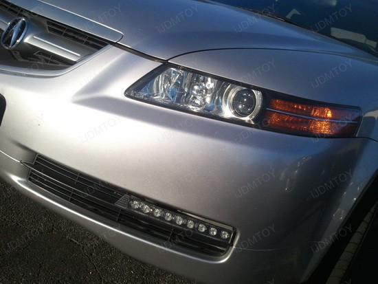 2005 Acura TL 9-LED Daytime Running Lights 2