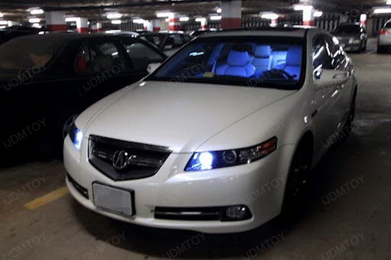 Acura 9005 DRL LED Bulbs 2