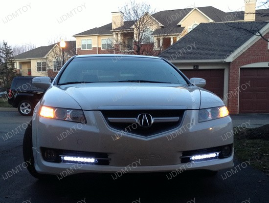 Acura TL LED Daytime Running DRL Lights 1