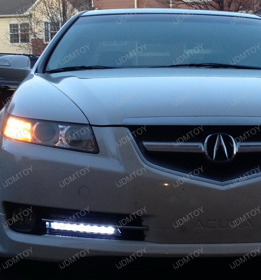 Acura TL LED Daytime Running DRL Lights 2