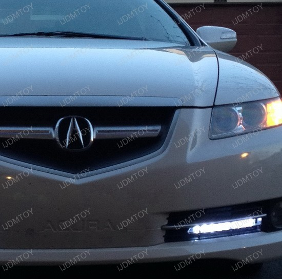 Acura TL LED Daytime Running DRL Lights 3