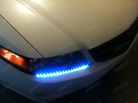 Acura TSX Audi Style LED Strip Lights 2