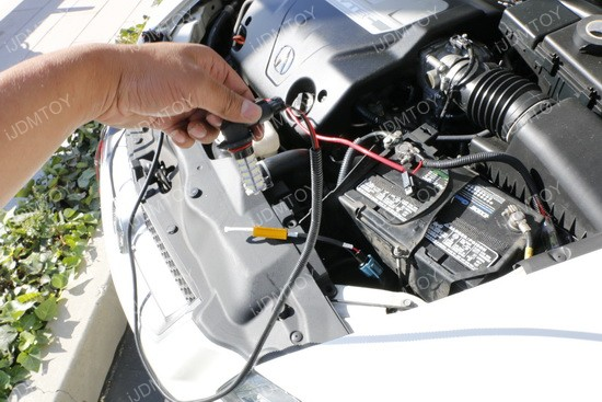 Install Acura TL DRL 02