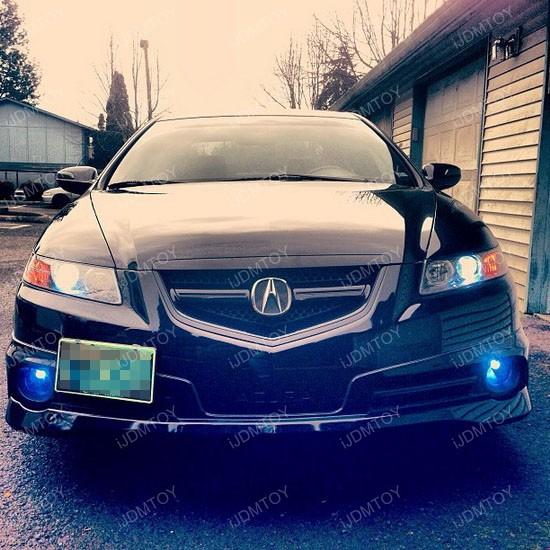 Acura TL LED fog 02