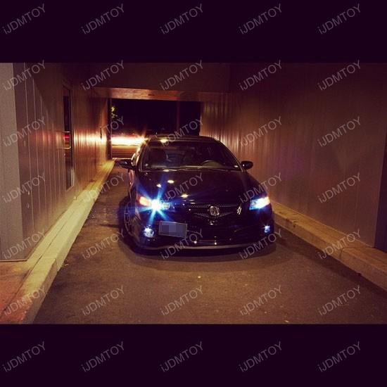 Acura TL LED fog 03