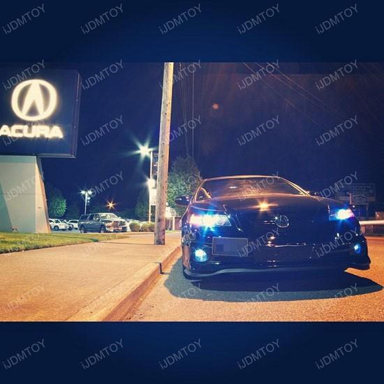 Acura TL LED fog 04