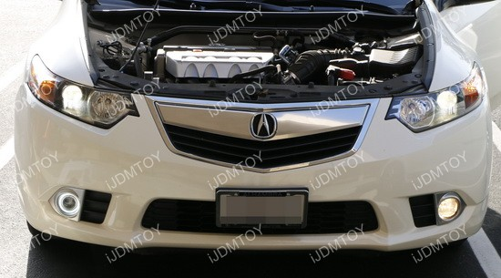 Acura TSX Halo Projector Fog Lights 02