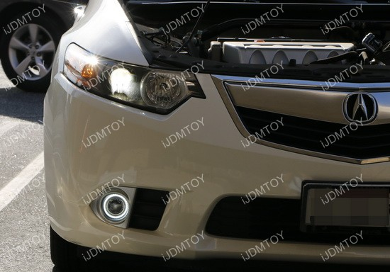 Acura TSX Halo Projector Fog Lights 03
