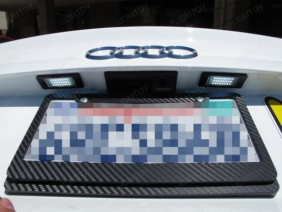 Audi S5 LED License Plate Lights