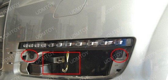 audi q7 oem fit led daytime running drl lights led day. Black Bedroom Furniture Sets. Home Design Ideas