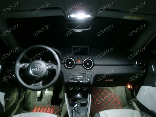 Audi A3 LED Interior Lights 02
