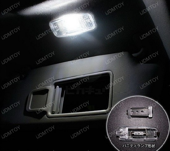 Audi A3 LED Interior Lights 03