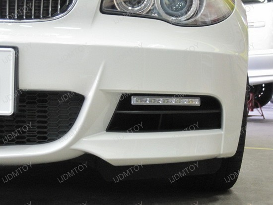 BMW 135i Hella Style LED Daytime Lamps 1