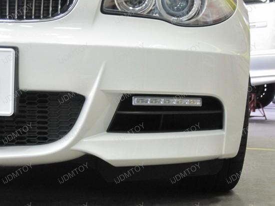 BMW 135i Hella Style LED Daytime Lamps 1