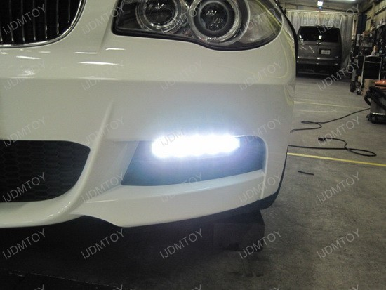 BMW 135i Hella Style LED Daytime Lamps 2