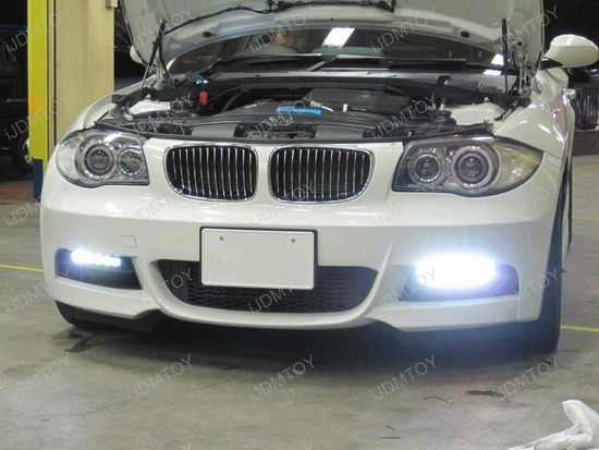 BMW 135i Hella Style LED Daytime Lamps 3