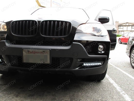 BMW X5 9-LED DRL Day Light Kit 1