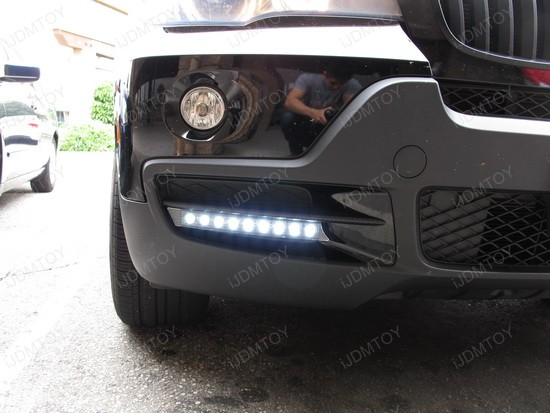 BMW X5 9-LED DRL Day Light Kit 2