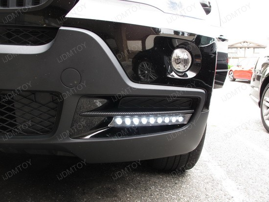 BMW X5 9-LED DRL Day Light Kit 3