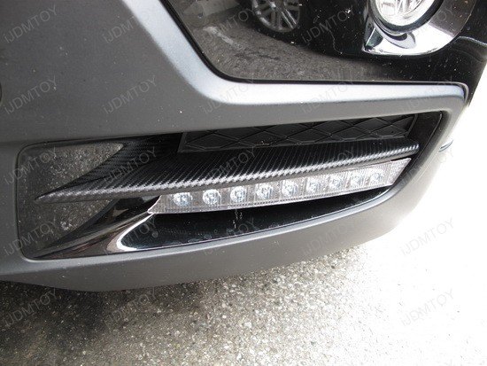 BMW X5 9-LED DRL Day Light Kit 5