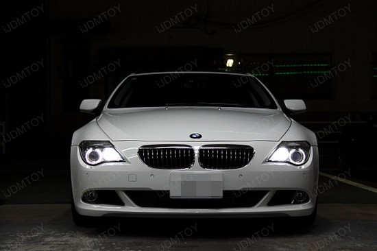 2009 Bmw 650i A Fabulous Pearl With Led Bmw Angel Eyes