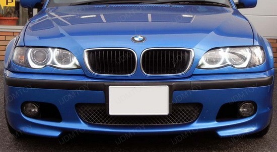 bmw e46 angel eyes ijdmtoy blog for automotive lighting. Black Bedroom Furniture Sets. Home Design Ideas