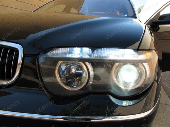 BMW 745Li Error Free 3156 LED Bulbs 4