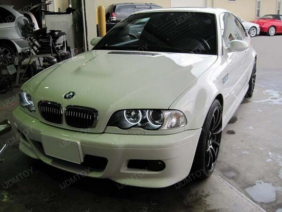 BMW E46 3 Series LED Angel Eyes Rings 2