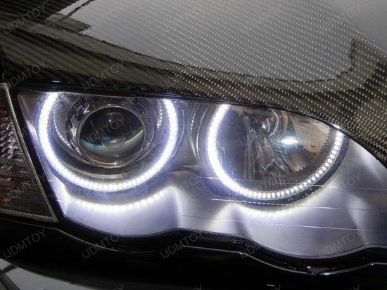 BMW E46 3 Series LED Angel Eyes 3