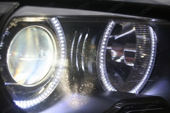 BMW M3 E46 3 Series LED Halo Rings 4