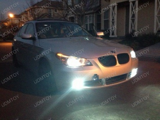 BMW 545i HID Fog Lights 2