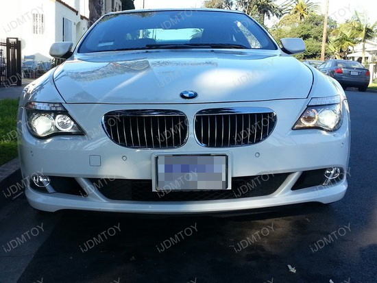BMW 650i LED Halo Angel Eyes 2