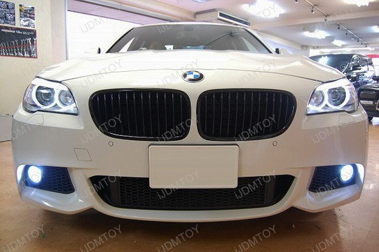 BMW F10 5 Series H11 Fog Lamp LED Bulbs 1