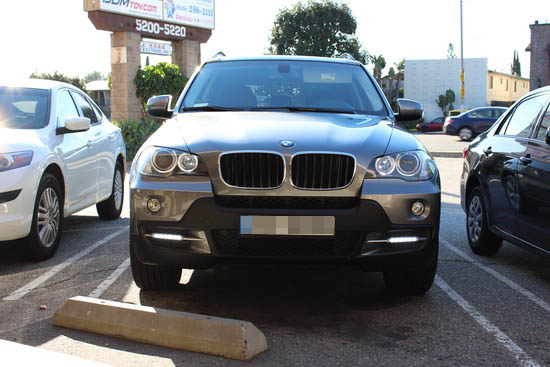 BMW X5 18W LED Daytime Running Lamps 1