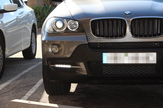 BMW X5 18W LED Daytime Running Lamps 2