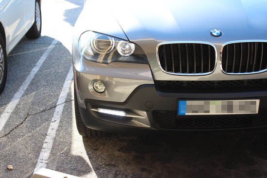BMW X5 18W LED Daytime Running Lamps 4