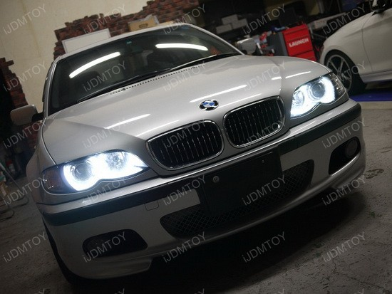 BMW 330i Sedan LED Halo Angel Eye Rings 2