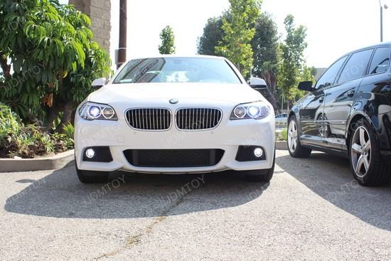 BMW 535i H11 CREE LED Fog Lights 4