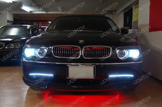 BMW 745Li LED Daytime Light Strips 1
