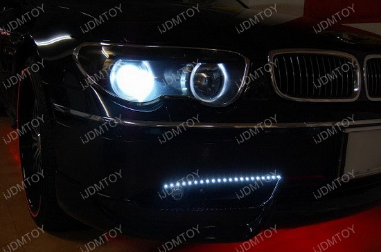 BMW 745Li LED Daytime Light Strips 2