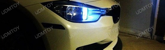 BMW F30 328i LED DRL Bulbs 1