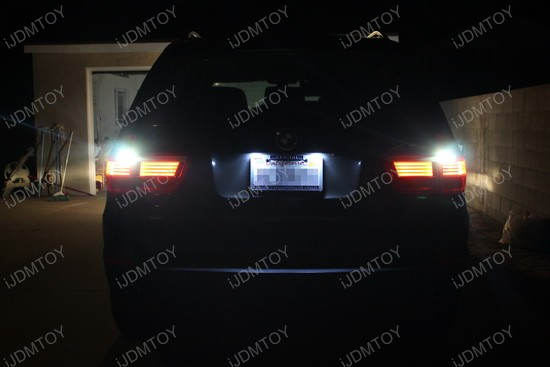BMW X5 921 LED Reverse Light Bulbs 1