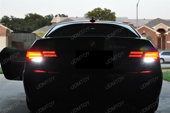 BMW E92 335is LCI CREE LED Backup Reverse Lights 3